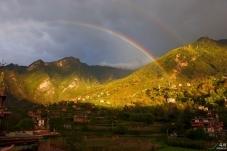 甲居藏寨双彩虹(祝贺荣获首页综合精华)