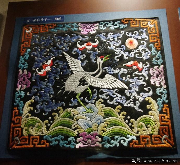 清朝官服上的鸟文化
