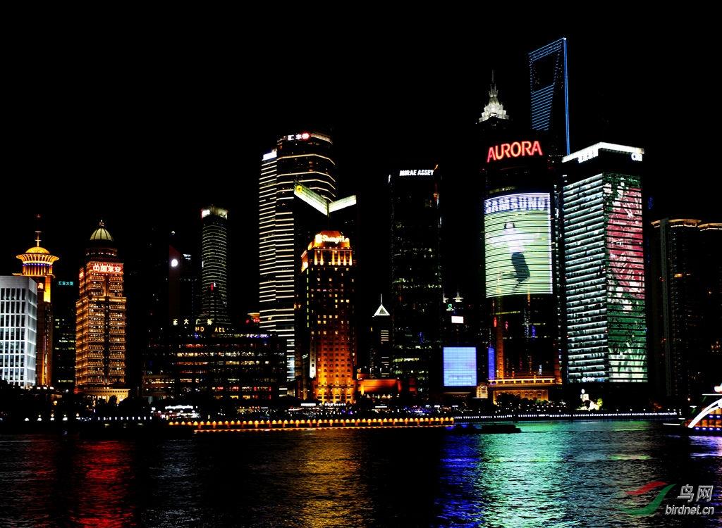 美丽的上海夜景