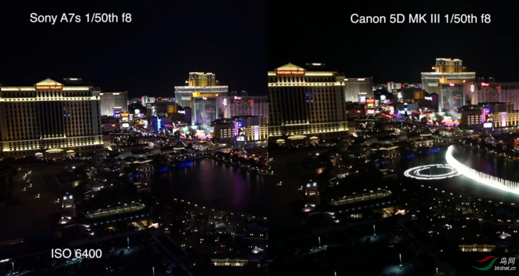 Sony A7s vs Canon 5D MK III side by side low