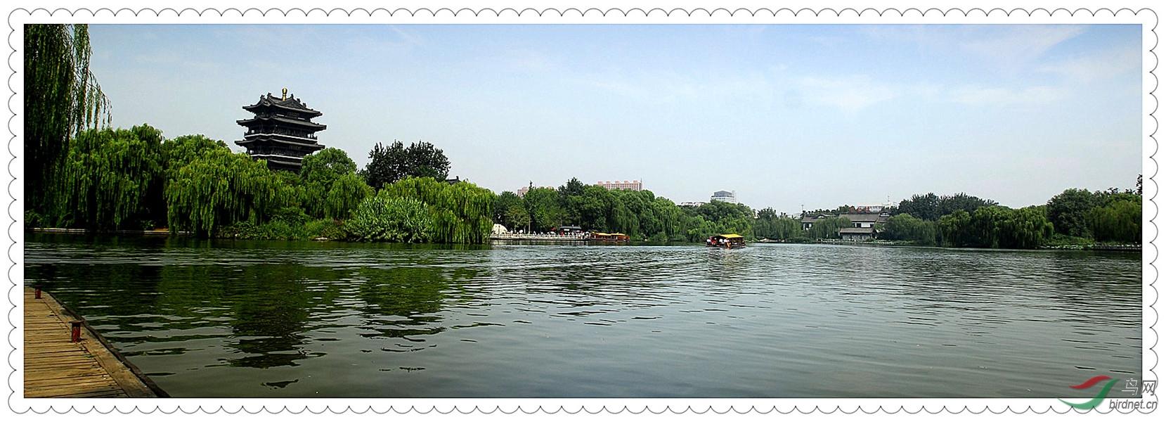 济南大明湖东湖小景