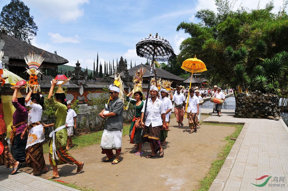 巴厘岛的宗教节曰