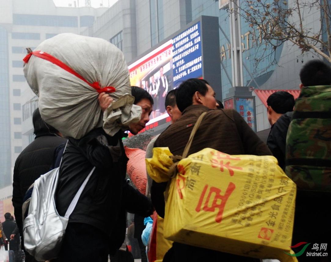 2012年春运郑州火车站入口处进站旅客.jpg