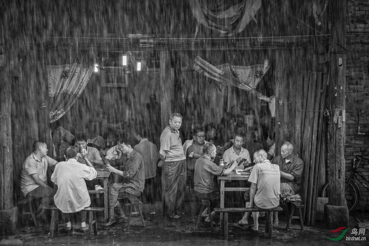 .Rain watching_艺术(画意)摄影.jpg
