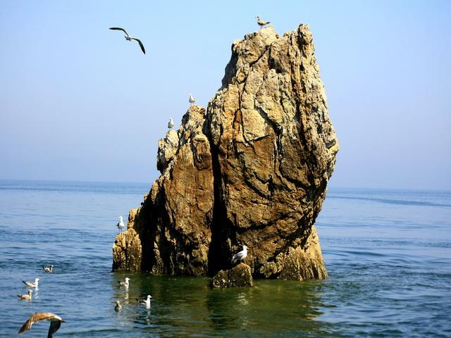 拍於辽宁大连庄河黑岛旅游圣地度假村
