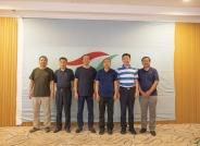 中国野生动物保护协会领导莅临鸟网检查指导工作