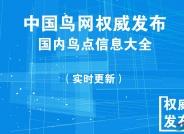 中国鸟网权威发布:国内鸟点信息大全