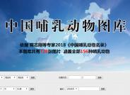 关于建设【中国哺乳动物图库】的通知