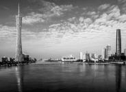 美丽珠江两岸------祝贺荣获黑白影像华盈彩票精华!