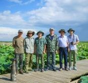文科总版光临宁夏沙湖
