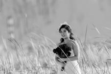 芦苇丛中的新娘