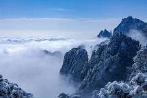 雪后黄山,分外妖娆!