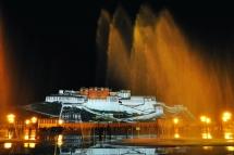 西藏布达拉宫夜色