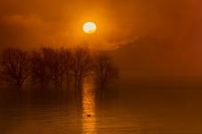朝霞晨霧―――――念湖