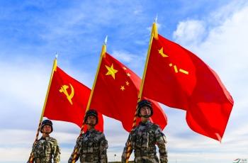 #我和我的祖国#--人民军队听党指挥,忠心报国(祝贺佳作荣获鸟网热点!)