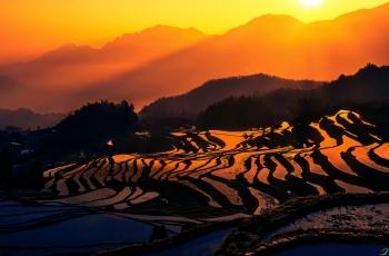 太阳从东方升起(祝贺yujifeng老师荣获首页综合精华)
