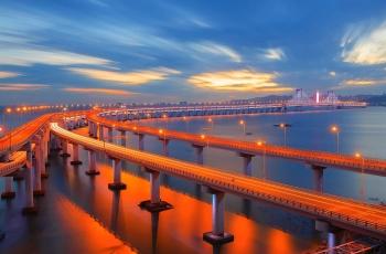 《天堑变通途》------星海湾大桥(祝贺老师佳作荣获首页综合精华)